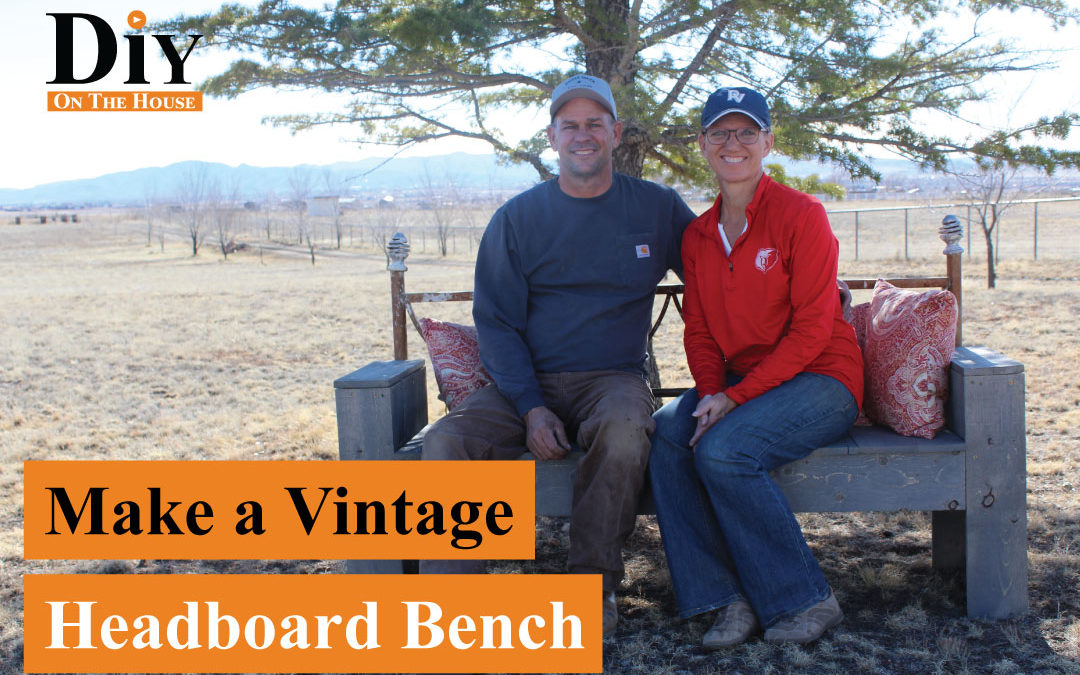 Make a Vintage Headboard Bench