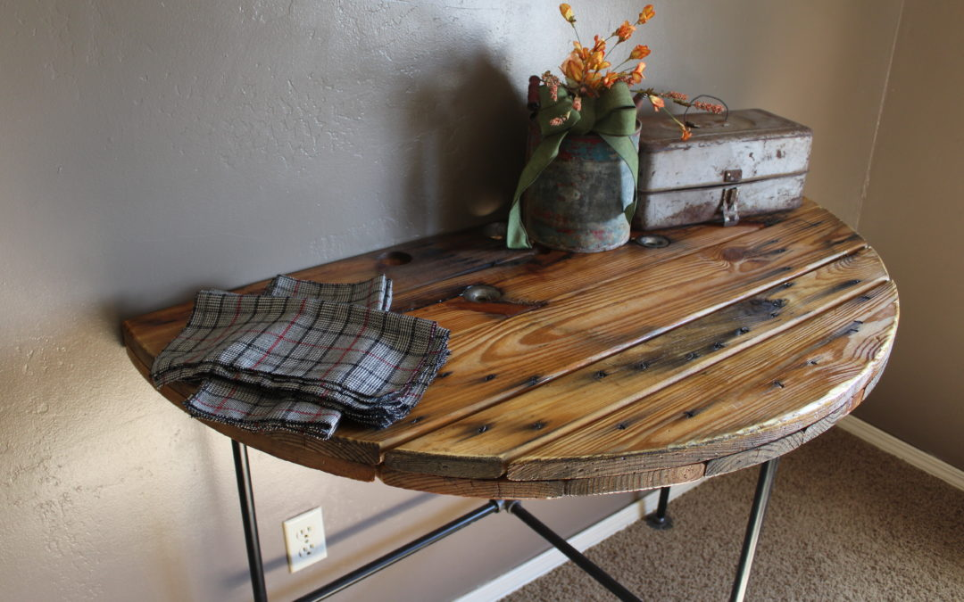 How to Build a Spool Kitchen Table