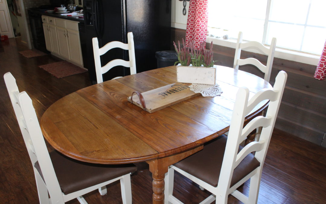 How to Paint and Upholster Your Dining Chairs