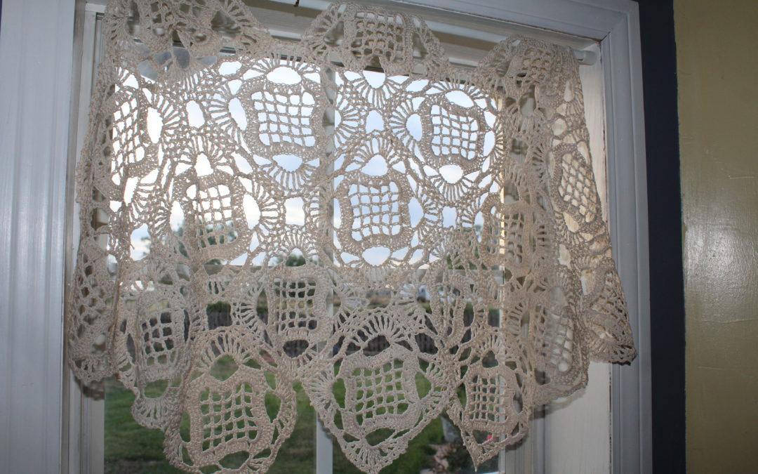 Free Crochet Curtain Pattern