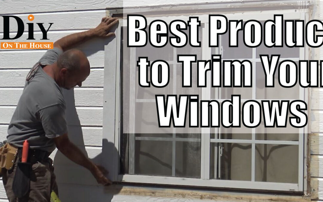 Best Product to Trim Windows – How to Cut Concrete Fiberboard
