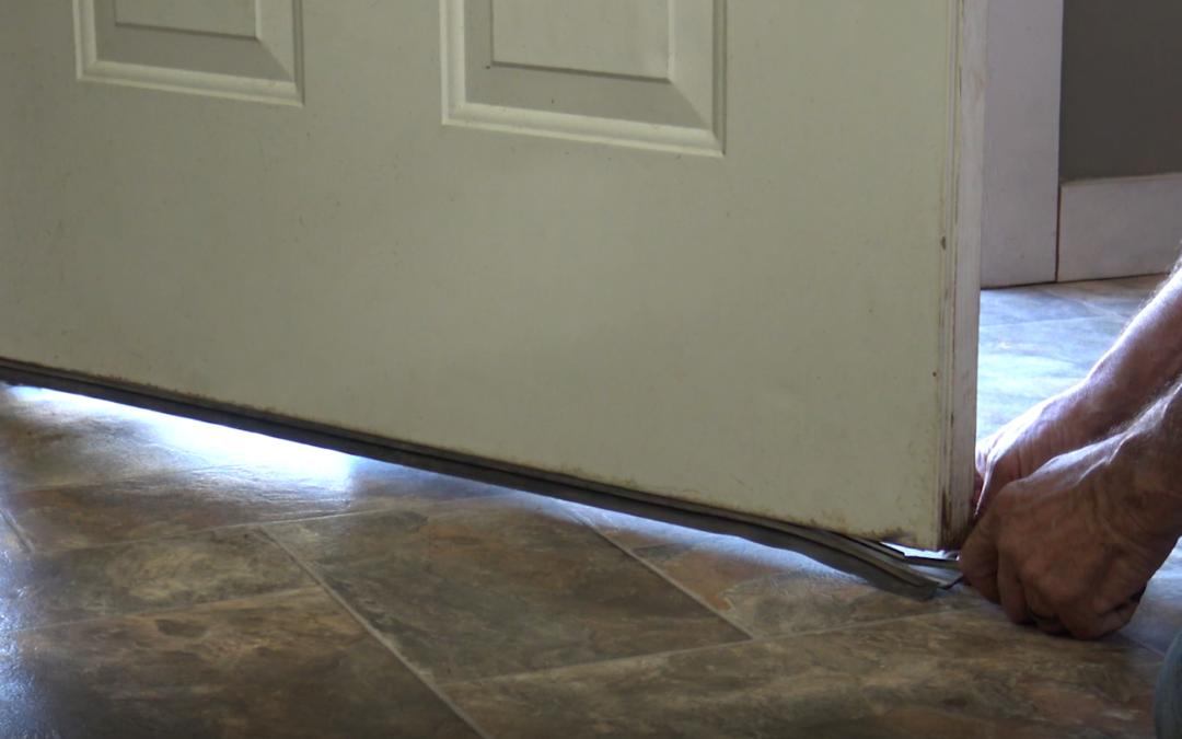 Replace the Door Seal on the Bottom of Door