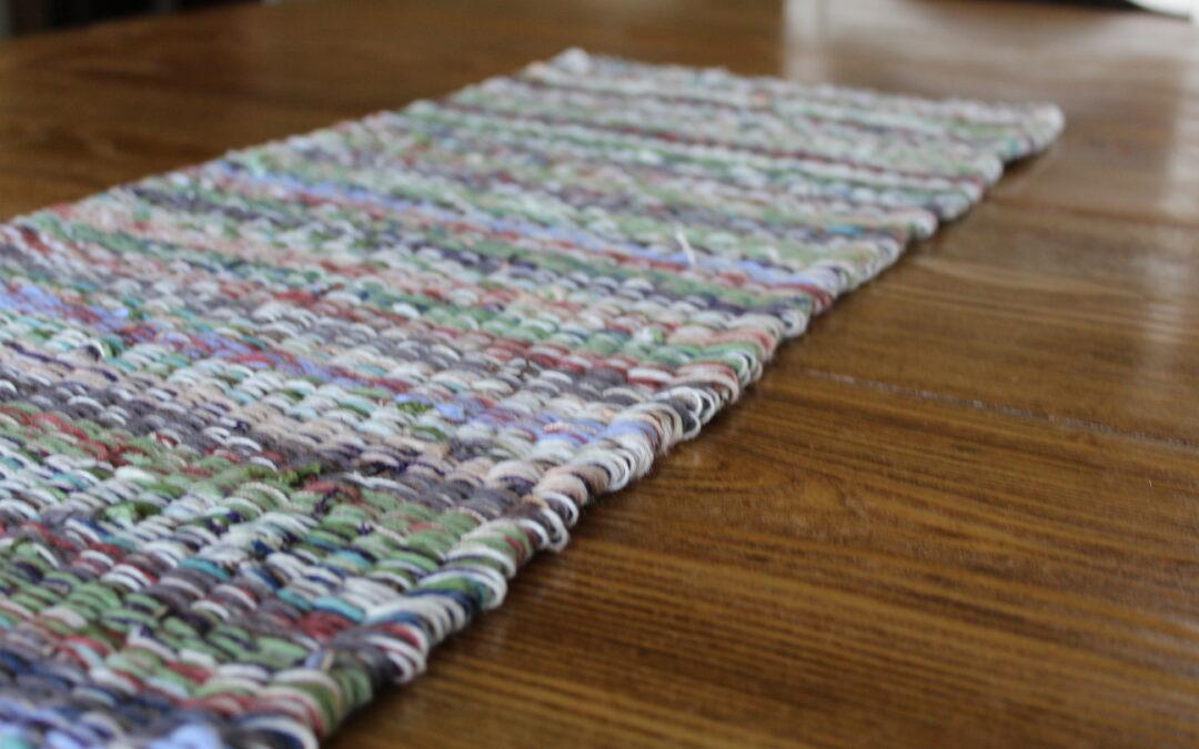 Weave a Table Runner – Yarn Weaving Project!