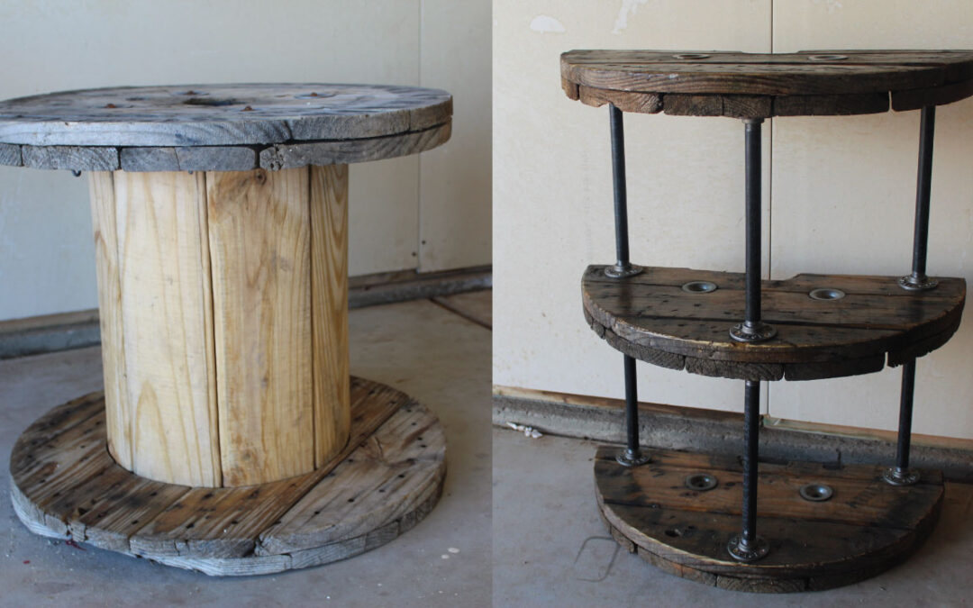 Cable Spool Projects: Cable Reel End Table