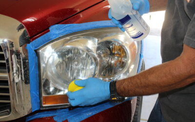 How to Restore Headlights with Cerakote