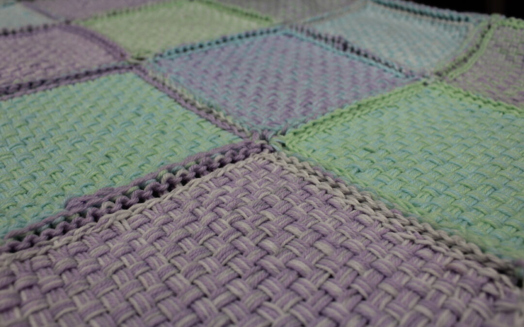 Weave a Blanket with a Pin Loom