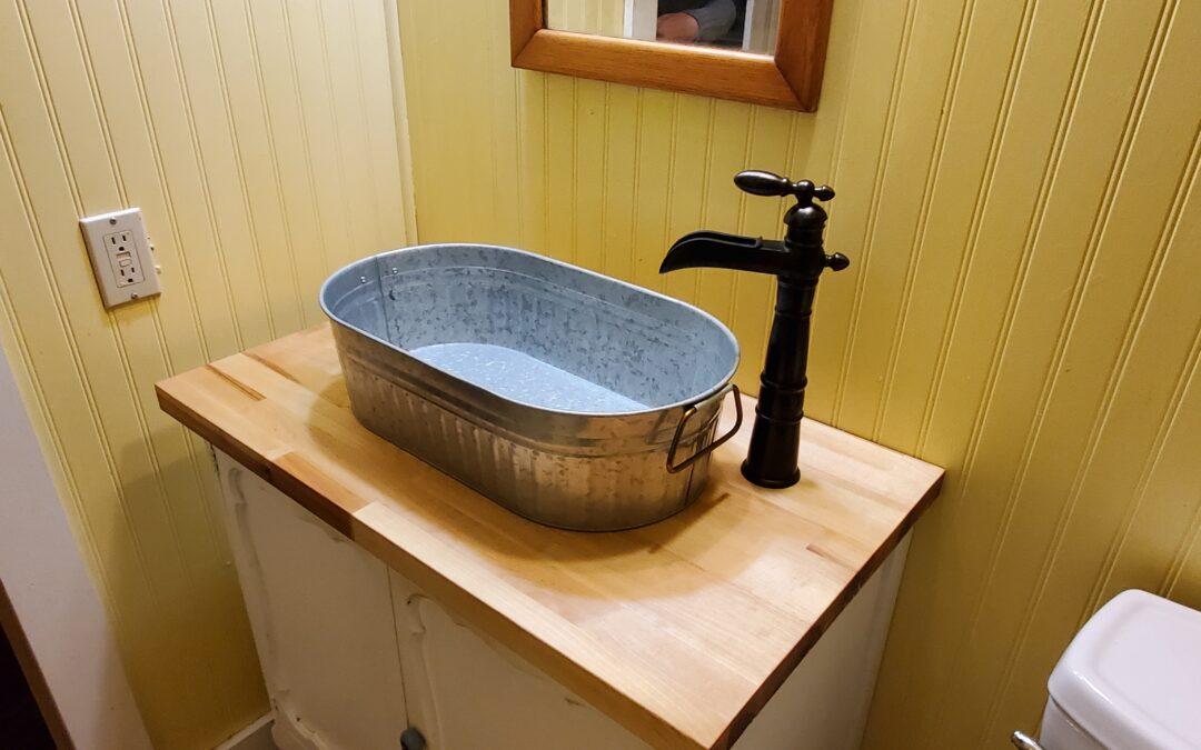 Vanity Sink for Cheap | Beverage Tub Sink