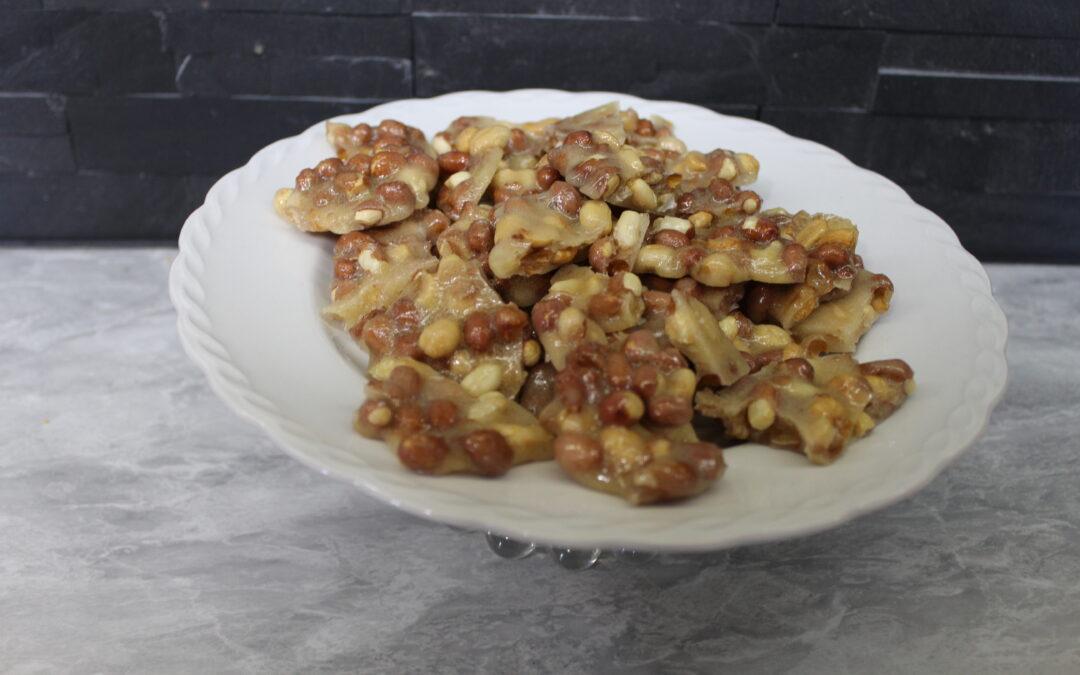 Make Microwave Peanut Brittle