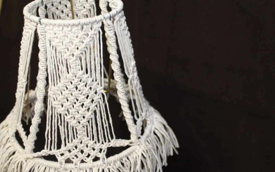 Make Your Own Lamp Shade | Easy Macrame Project