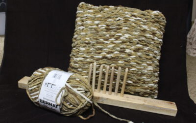 Creative Pillow Idea: Things to Make on a Peg Loom