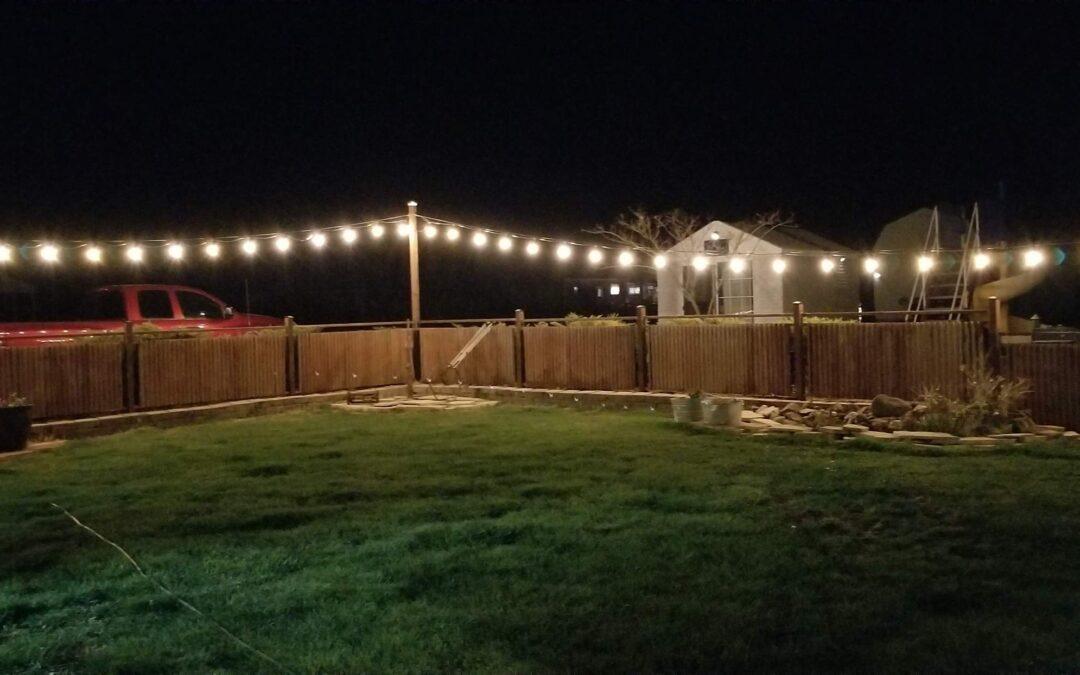 Install String Lights