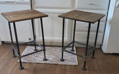 Pipe Frame Furniture | Custom Bar Stool or Industrial Table
