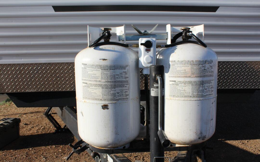 RV Propane Leak Repair – Regulator and Hose Replacement