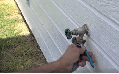 TRICK to Repair an Outside Faucet Leak