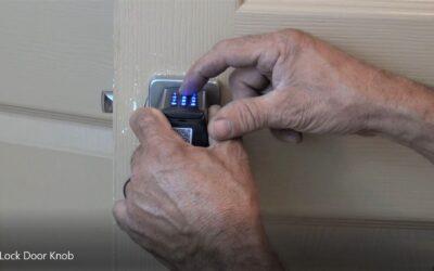 Keyless Door Knob  – Easy Install!!