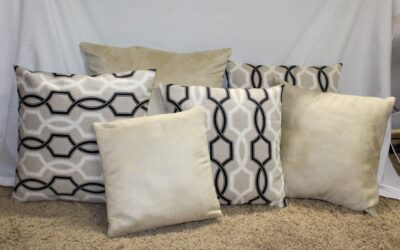 Pillow Makeover – How to Make a Pillow