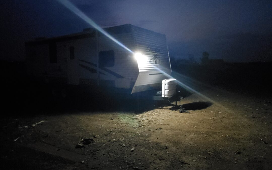 Solar Security Lights for RVs