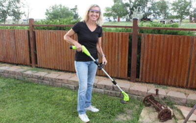 Battery Grass Weed Trimmer